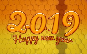 Picture background, figures, New year, New Year, 2019