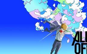Picture anime, art, male, guy, teacher, Sensei, Mob Psycho 100, Mob psycho 100
