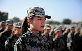 Picture form, Asian, Military training season
