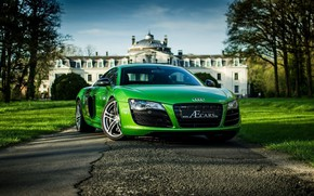Picture coupe, Audi R8, sports car, mid-engined all-wheel drive