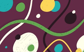 Wallpaper abstraction, vector, texture