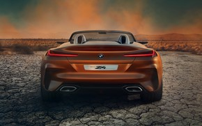 Picture BMW, Roadster, rear view, 2017, Z4 Concept