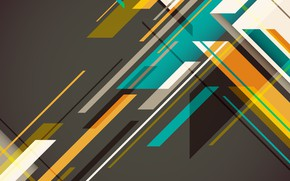 Picture line, abstraction, vector, geometry, background