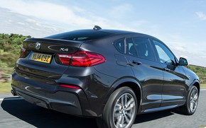 Picture road, speed, BMW x4
