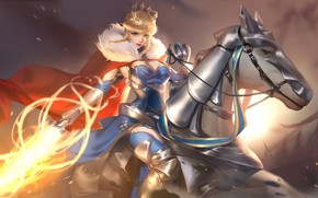 Picture girl, horse, Fate / Grand Order, The destiny of a great campaign