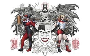 Picture Card, Smile, Joker, Batman, Costume, Hero, Hammer, Cloak, Superhero, Hero, Art, Art, Batman, Smile, Joker, …