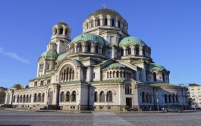 Picture Cathedral, temple, Holy, Bulgaria, Sofia, Alexander Nevsky, the temple
