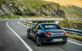 Picture asphalt, Mazda, Targa, 2019, dark gray, MX-5 RF