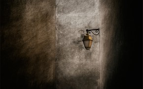 Picture wall, lantern, wall, lantern, Gilbert Claes