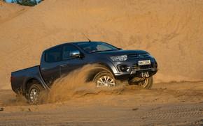 Picture sand, Mitsubishi, pickup, L200