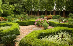 Picture Park, garden, beds