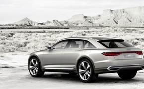 Picture Concept, Audi, Allroad, side, universal, 2015, Prologue