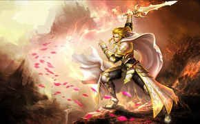 Picture sword, guy, League of Angels