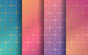 Picture background, colors, texture, geometry, ornament, pattern, seamless