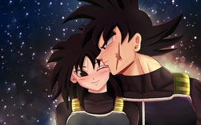 Picture girl, pair, guy, Dragon Ball