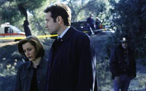 Picture the series, The X-Files, Fox, Classified material, given