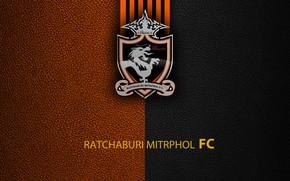 Picture wallpaper, sport, logo, football, Ratchaburi Mitrphol