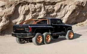 Picture pickup, Rezvani, 2020, double cab, Hercules 6x6
