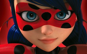 Picture Eyes, Mask, FACE, Lady Bug