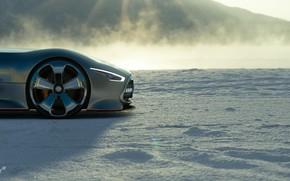 Picture Concept, Auto, Black, The game, Japan, Machine, Mercedes, Benz, Lights, Vision, Race, Mercedes - Benz, …