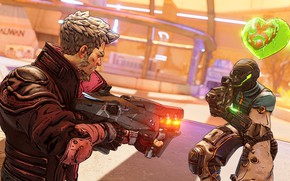 Picture soldiers, two, heart, Borderlands 3