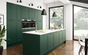 Picture interior, kitchen, dining room, Kitchen trend 2021
