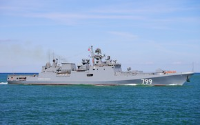 Picture frigate, ship, guard, Admiral Makarov