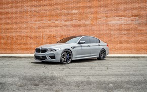 Picture bmw, grey, f90