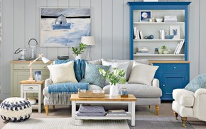 Picture room, furniture, interior, living room