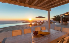 Picture Villa, pool, morning, Spain, sea view, terrace, Villa Carmen
