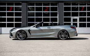 Picture BMW, convertible, G-Power, in profile, two-door, Bi-Turbo, 2020, BMW M8, M8, F91, M8 Convertible, G8M, …