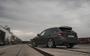 Picture overcast, mediocrity, BMW, 2018, 3-series, universal, 320d, the five-door, F31, Z-Performance, 3P