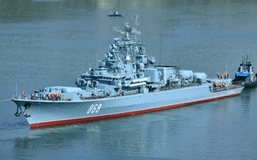 Picture patrol ship, Inquisitive, project 1135M