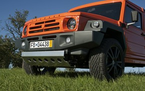 Picture orange, SUV, 2011, 4x4, the front part, Travec, Tecdrah Integrale 1.5 TTi, Renault/Dacia Duster, frame