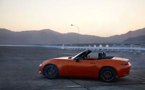 Picture machine, mountains, Mazda, MX-5, 30th Anniversary Edition, 2020