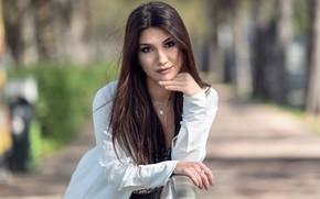 Picture look, sexy, model, hair, beauty, Daniela
