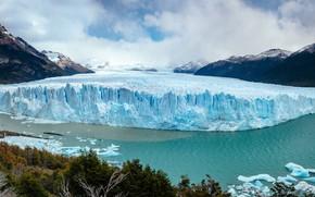 Picture mountains, photo, glacier, Argentina, Perito Moreno