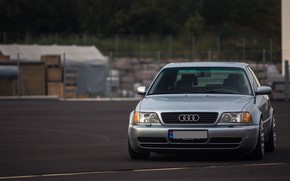 Picture Audi, Classic, Silver, URS6, Oldschool