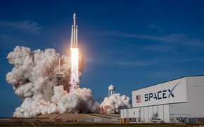 Picture USA, Rocket, Start, SpaceX, Cape Canaveral, Falcon Heavy