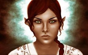 Picture look, girl, elf