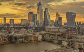 Picture city, England, London, home, panorama