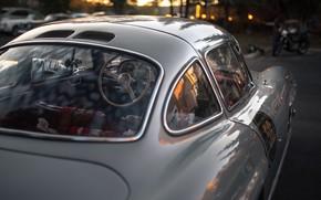 Picture Silver, Sportcar, Mercedec Benz 300SL