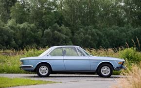 Picture BMW, Wheel, Profile, 1971, Classic car, BMW 3.0 CSi (E9)