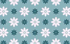 Picture background, texture, white, flowers