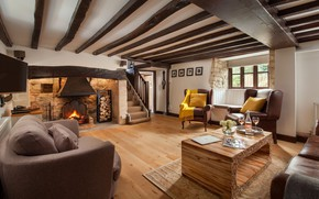 Picture design, style, interior, fireplace, living room, home in Somerse, Smithycroft