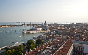 Picture the sky, Italy, panorama, Venice