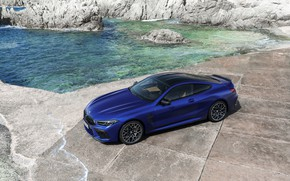 Picture shore, coupe, BMW, top, 2019, BMW M8, M8, M8 Competition Coupe, M8 Coupe, F92