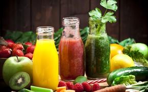 Picture juice, fruit, vegetables, fruit, vegetable