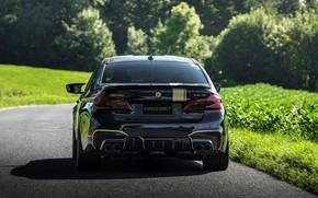 Picture BMW, spoiler, sedan, 2018, Biturbo, BMW M5, feed, Manhart, M5, V8, F90, 4.4 L., 723 …