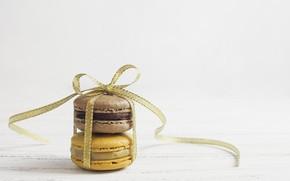 Picture tape, dessert, wood, sweet, dessert, macaron, macaron